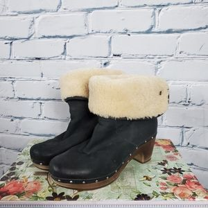 Ugg Lynnea Clog Ankle Boots